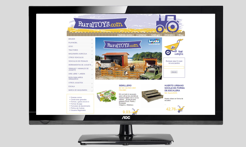 Ruraltoys – Diseño de páginas web DT informática   multimedia 134848fc9e9