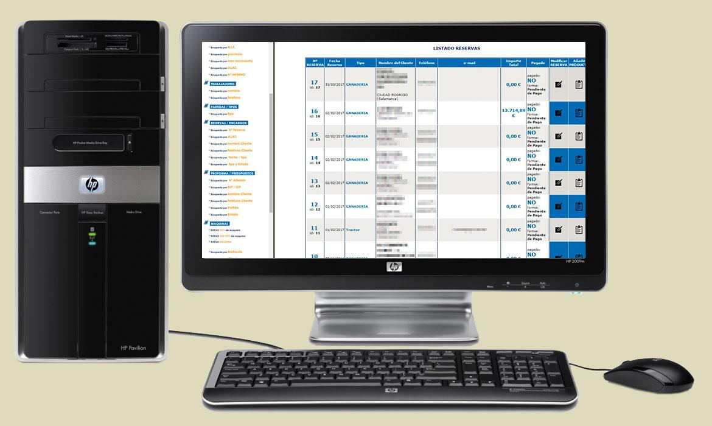 Aplicación de gestión de Servicios Técnicos